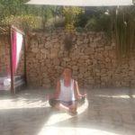 Last morning yoga
