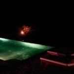Zwembad 's avonds